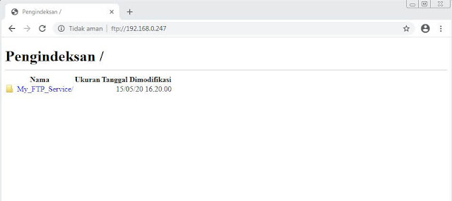 Cara Install vsftpd di Centos 8 Server