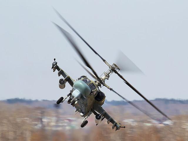Gambar 06. Foto Helikopter Tempur Kamov Ka-52 Alligator