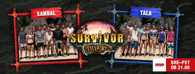 "Show-ul ""Survivor Slovenija: Filipini"" la POP TV"