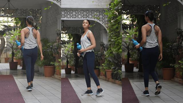 Alia Bhatt seen going to gym in her hot look