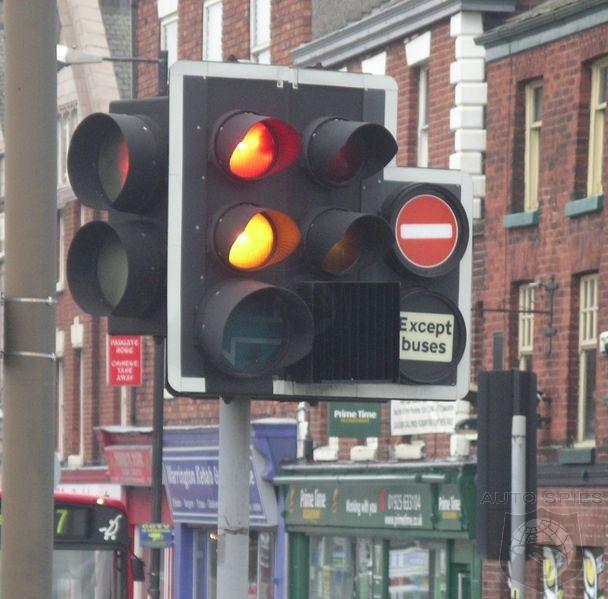 short yellow light