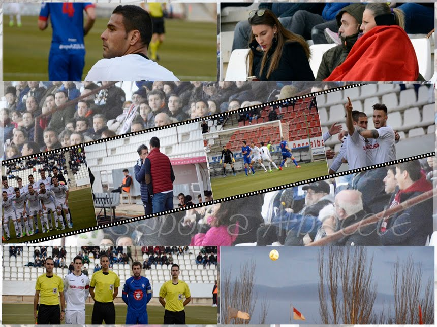 LAS FOTOS DEL ALBACETE 1 - AMOREBIETA 0