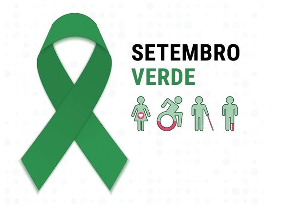 Setembro Verde - O mês da pessoa com deficiência