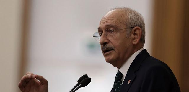 Κιλιτσντάρογλου: Δεν θέλουμε πόλεμο μεταξύ Τουρκίας και Ελλάδας