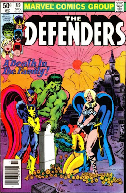 Defenders #89, A death in the family