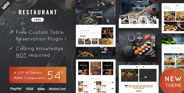 Restaurant Food Theme