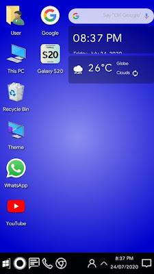 ဖုန်းကို ကွန်ပျူတာ Windows 10 ပုံစံ ပြောင်းသုံးကြမယ်