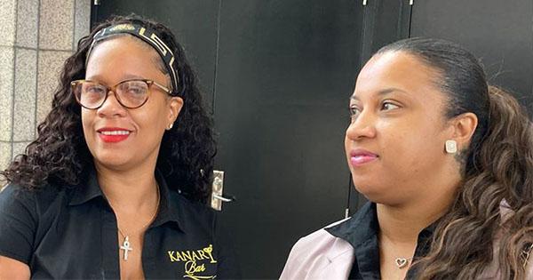 Kawauna Gill and Tamara Coleman, founders of Kanary Bar