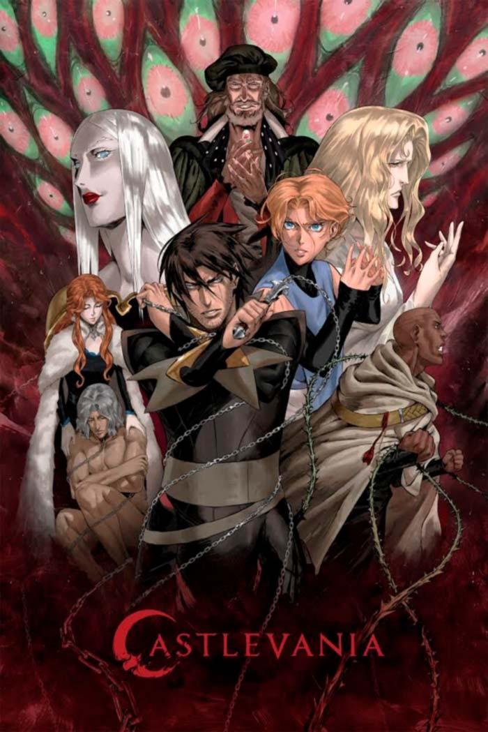 Castelvania anime - Temporada 3 - Netflix