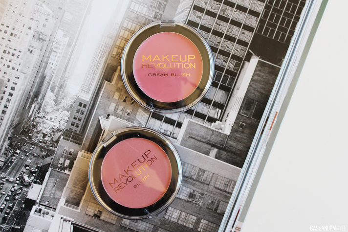 MAKEUP REVOLUTION // Powder + Cream Blushes   Review + Swatches - CassandraMyee
