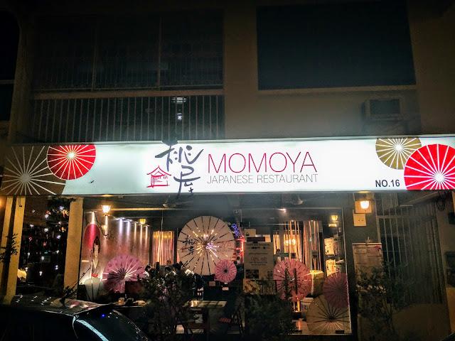 Food Review Momoya Japanese Restaurant Tenah Merah