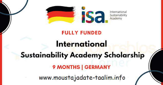 منحة ISA 2021 في ألمانيا [منح دراسية كاملة | أكاديمية الاستدامة الدولية