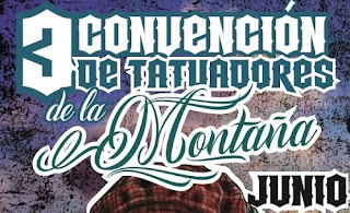 3ra Convencion De Tatuadores De la Montaña 2018