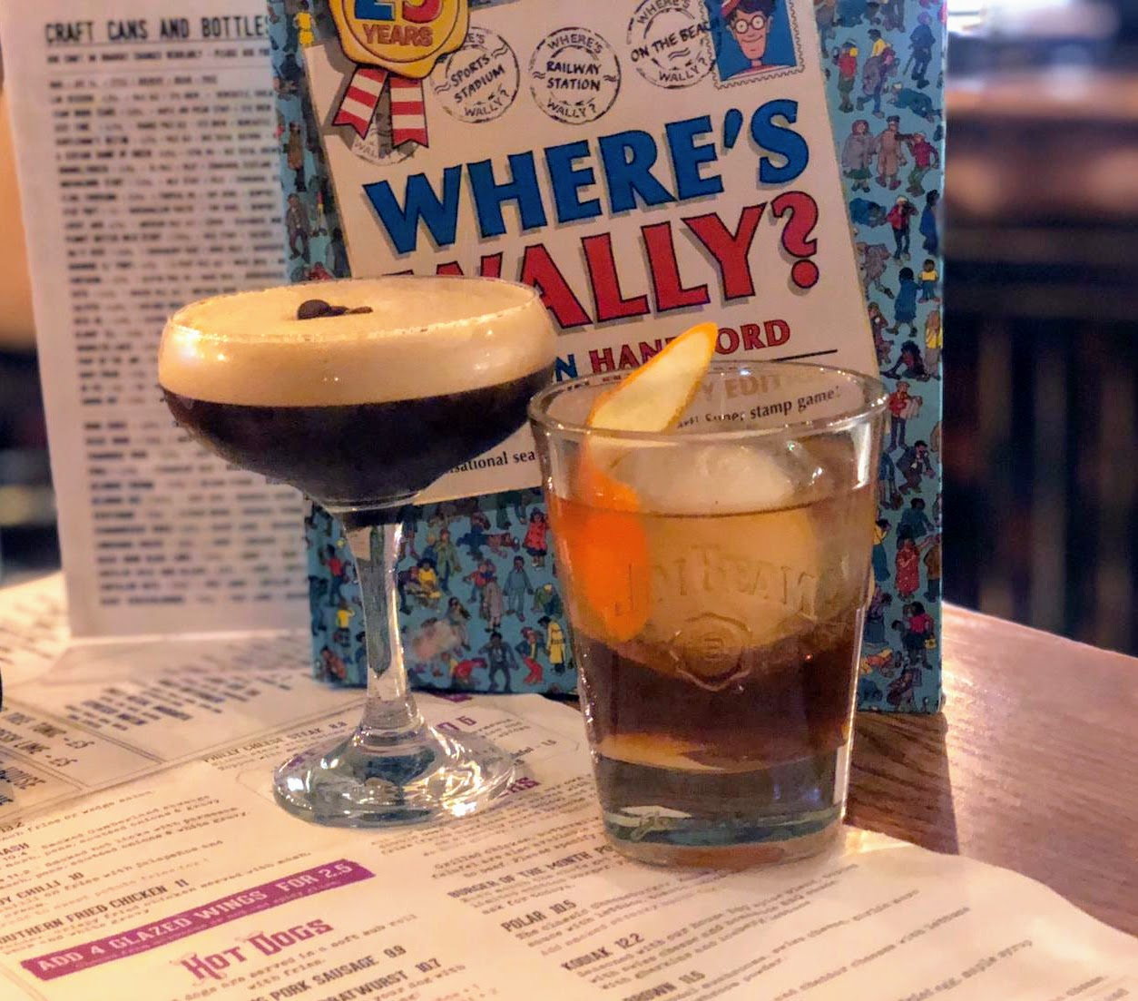 Where to go for cheap (but nice) drinks near Monument in Newcastle Upon Tyne - the purple bear