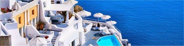 Hotel romantici Oia Grecia