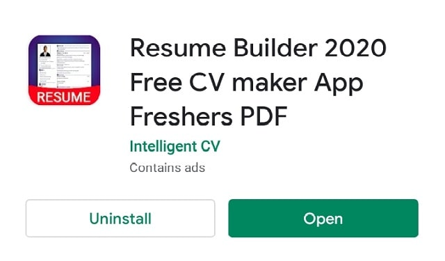How to Make Resume in Mobile