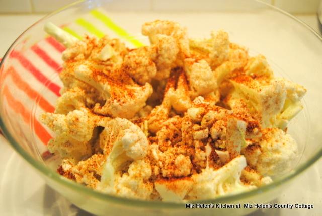 Roasted Cauliflower Taco Bites at Miz Helen's Country Cottage