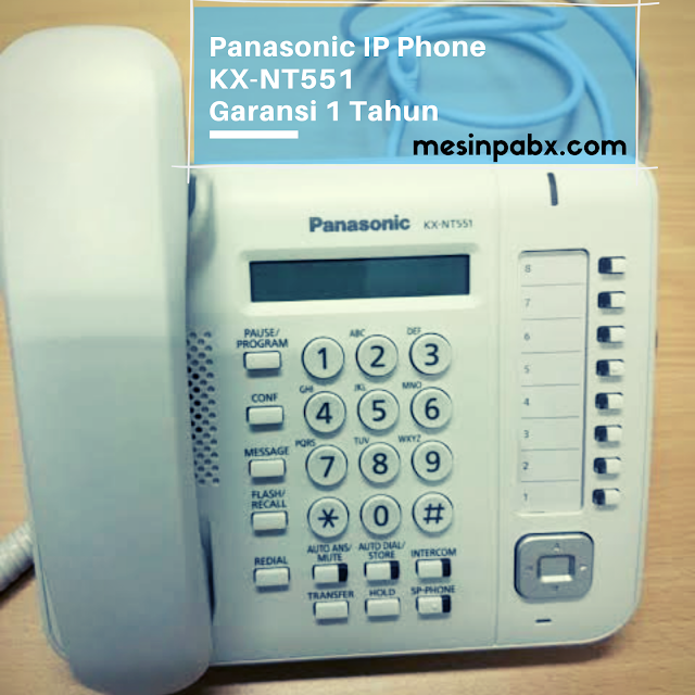 panasonic ip phone kx-nt551