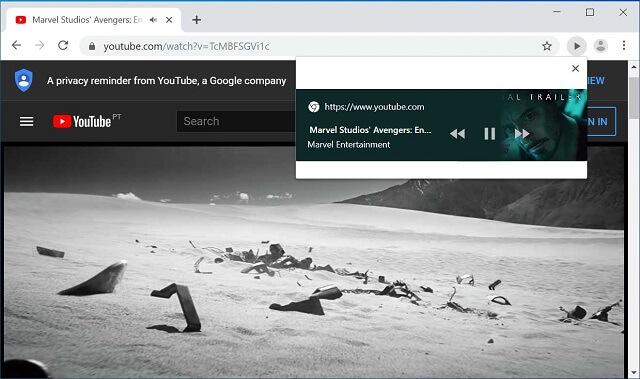 متصفح جوجل كروم سيحصل قريباً على زر للتحكم في الوسائط