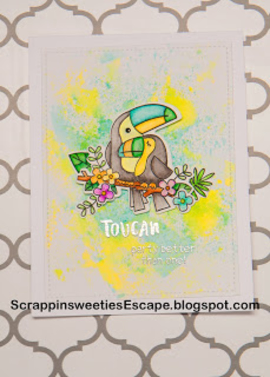Toucan party better then one by Laura features Toucan Party by Newton's Nook Designs; #newtonsnook