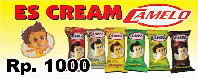 Distributor Es Cream Camelo Padang Sumatera Barat