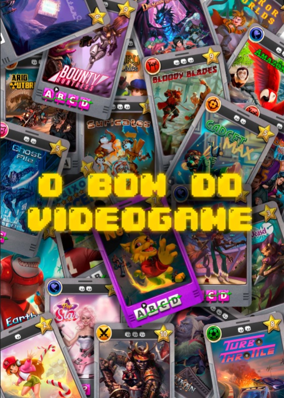 O Bom do Videogame - jogo de tabuleiro