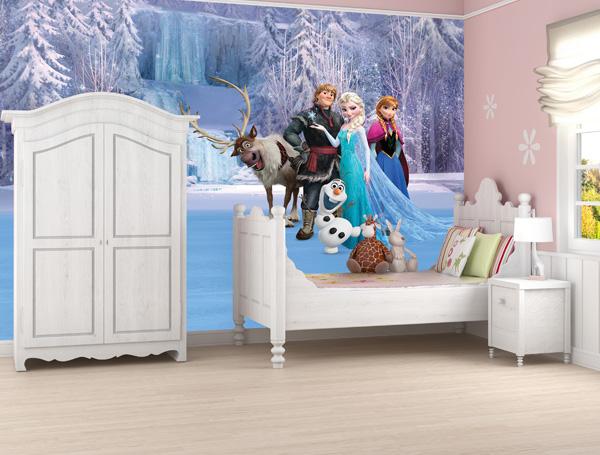 Tapetti Lastenhuoneeseen Frozen valokuvatapetti lapsia