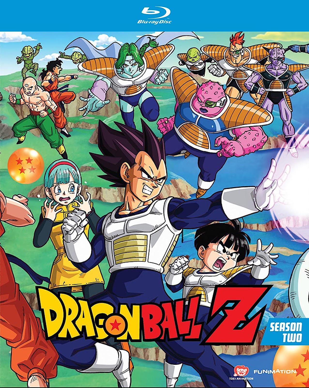 Blu Ray And Dvd Covers Dragon Ball Z Blu Rays Dragon Ball Z