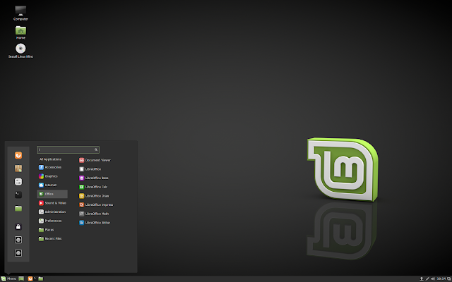 Free Download Linux Mint 18 Sarah Cinnamon Operating System 32bit/86