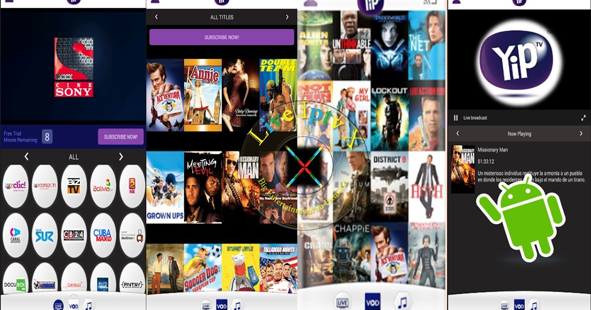 Internet Companies Near Me >> YipIPTV1.2 APK FOR Stream Live TV , VOD ON ANDROID Device | Live Iptv X