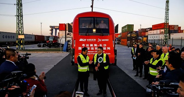 Megtízszereződött a Záhonyba érkező ázsiai konténervonatok száma tavaly