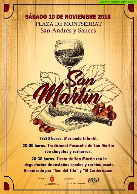 San Martín en San Andrés y Sauces