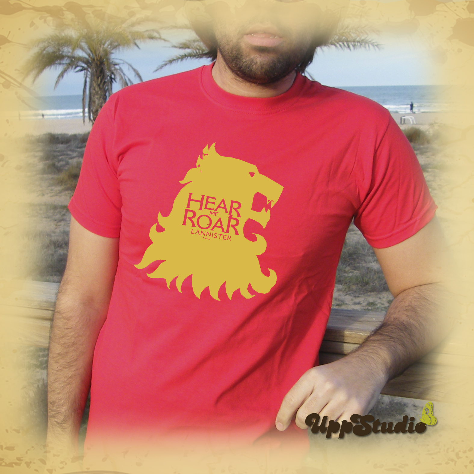 Camiseta Lannisters Hear Me Roar