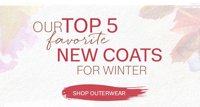 Top 5 Coats 2017