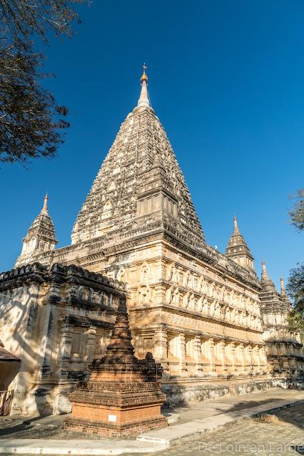 Mahabodhi pagoda - Bagan - Myanmar - Birmanie
