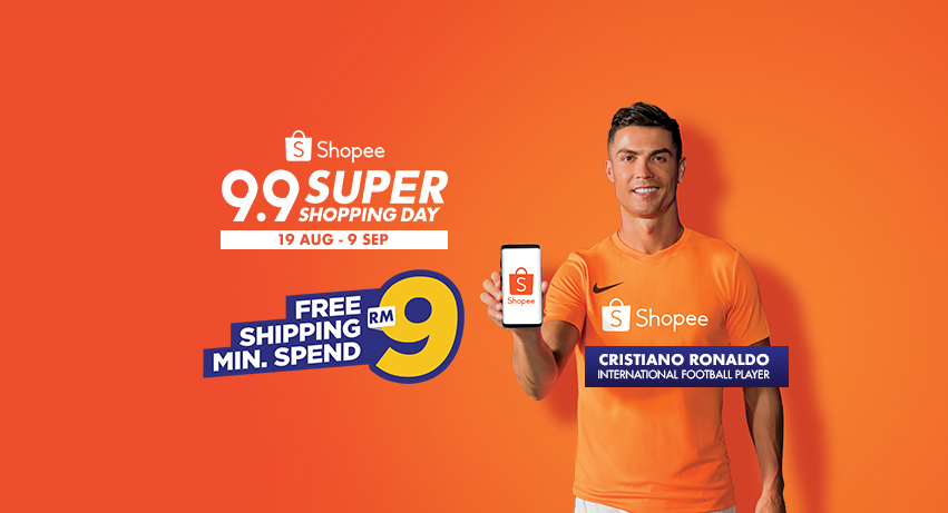 [NEWS] Catch Cristiano Ronaldo on Shopee Live - Cristiano Ronaldo to join exclusive Shopee Live stream on 28 August