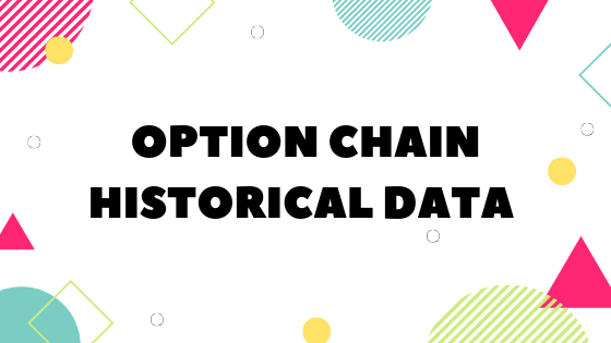 Option chain historical data excel sheet download