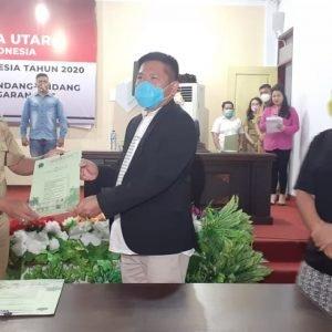 Rapat Paripurna Penandatanganan Nota Kesepahaman. Clay : KUA - PPAS Mengacu Pada Visi Misi Kabupaten Minut