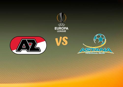 AZ Alkmaar vs Astana  Resumen