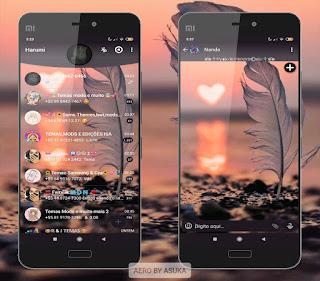 Pena Love Theme For YOWhatsApp & Fouad WhatsApp By Asuka