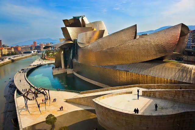 Bilbao in spain