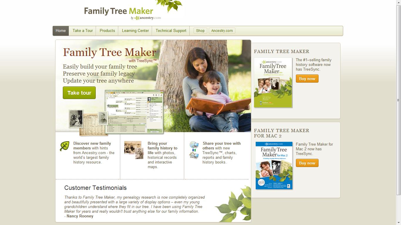 interactive family tree maker