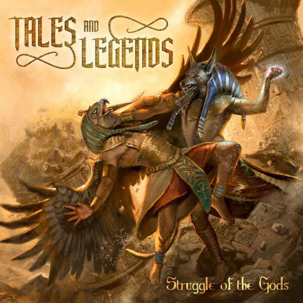 """Ο δίσκος των Tales and Legends """"Struggle of the Gods"""""""