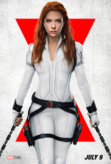 Black Widow wears white