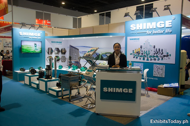 Shimge Pump Exhibition Booth