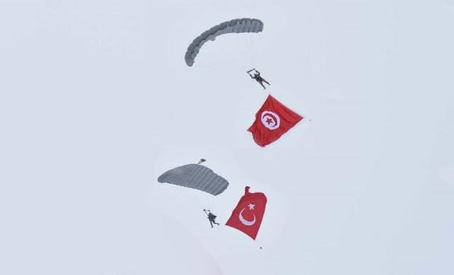 Exercice conjoint entre la Tunisie et la Türkiye