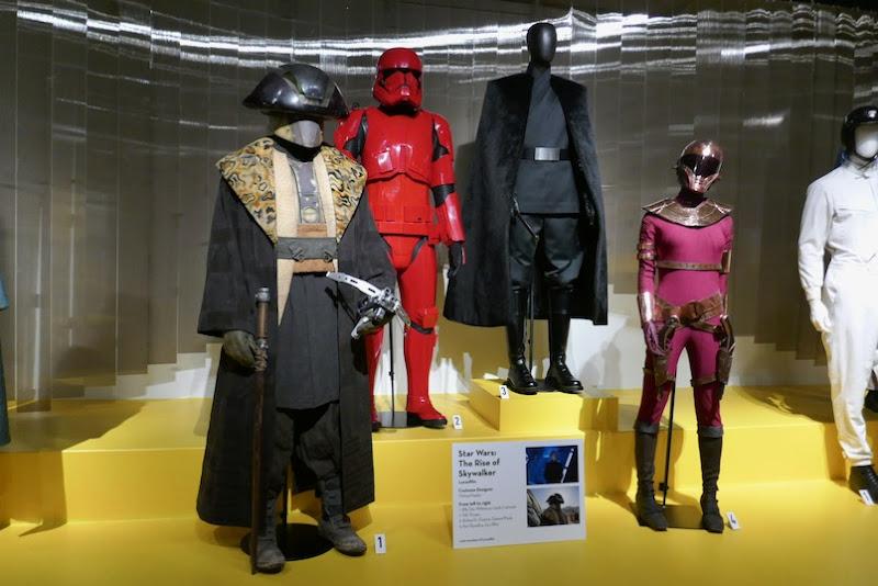 Star Wars Rise of Skywalker movie costumes
