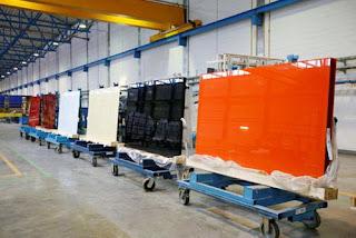 Производство силикатного стекла