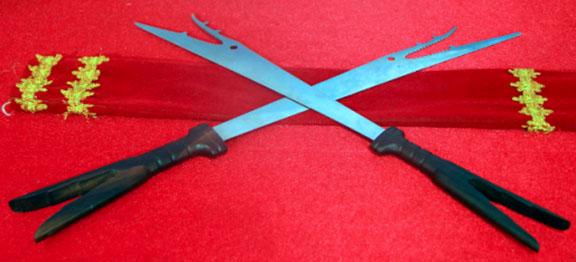 Gambar Pedang Bara Sangihe Senjata Tradisional Sulawesi Utara