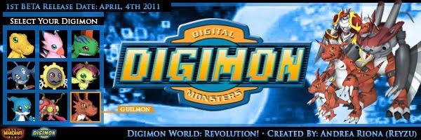 Andrea's Projects Development: Digimon World: Revolution